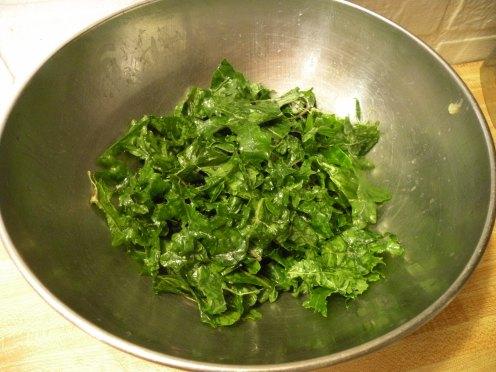 massaged kale